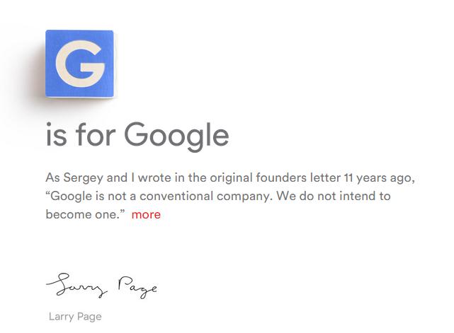 GOOGLE ABSORBIDA POR  #Alphabet. ¿Qué le depara al futuro de nuestro amado Google?