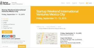 startup ventures weekend