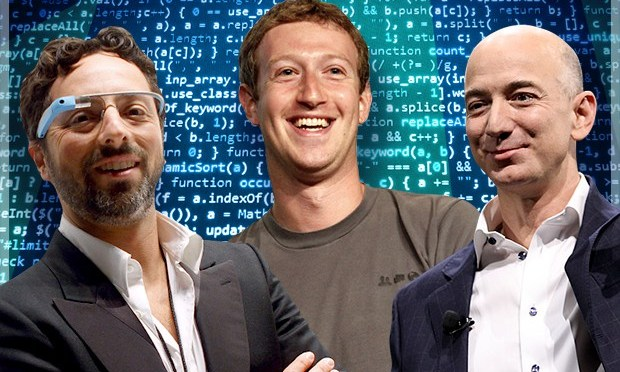 Zuckerberg, Bezos, Cook, Page y Brin… así inician el 2016 los grandes de Silicon Valley