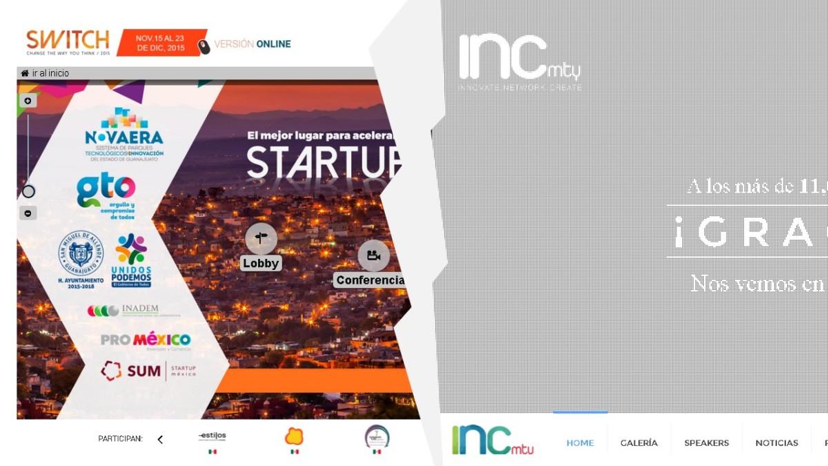 Switch2015 Vs. INCMTY ¿Cuál fue la mejor inversión para congresos de emprendedores este año?