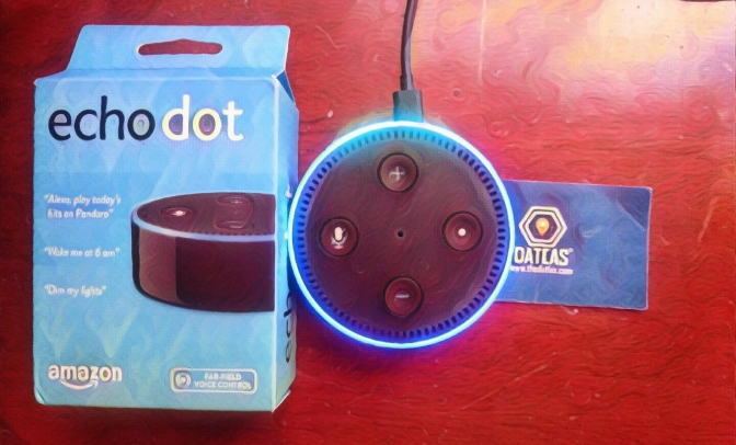 Alexa de Amazon con Datlas