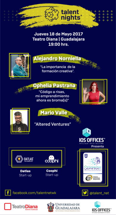 Datlas – Nos vamos a Guadalajara  Talent Nights