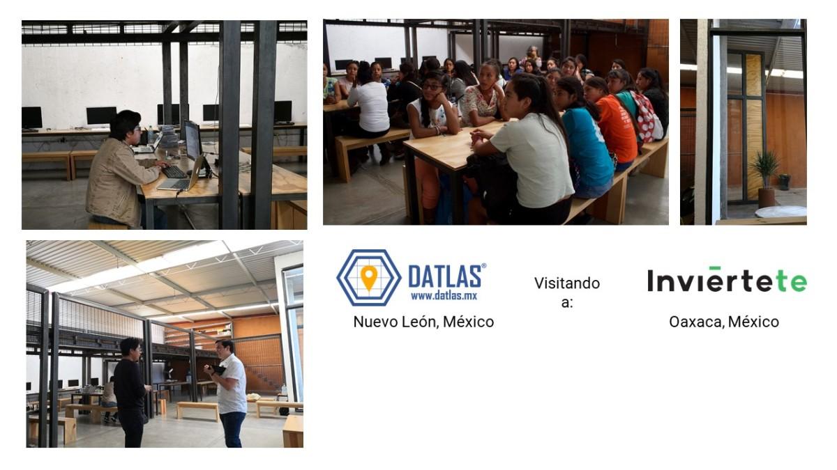 De Monterrey a Oaxaca - Visitamos a Inviértete, donde se forman l@s mejores programadores de la región