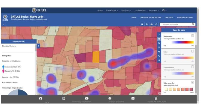 ¡NUEVO! Mapa Socios Datlas: Al servicio de agencias de investigación, firmas de consultoría y grandes corporativos.