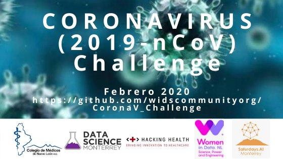 "Invitación al ""Coronavirus 2019 nCoV"" Challenge – BLOG DATLAS"