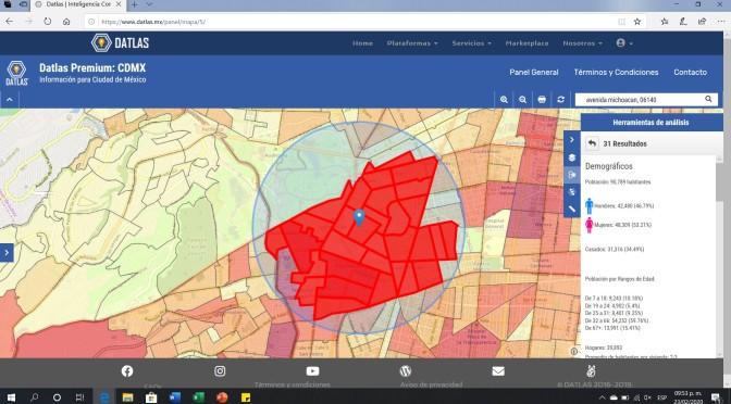 ¿Cómo segmentar mi mercado usando mapas? – Datlas Caso de Uso