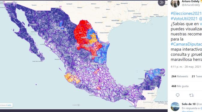 #VOTOUTIL , UNA APLICACIÓN DE MAPAS ELECTORALES EN MÉXICO – INVESTIGACIÓN DATLAS