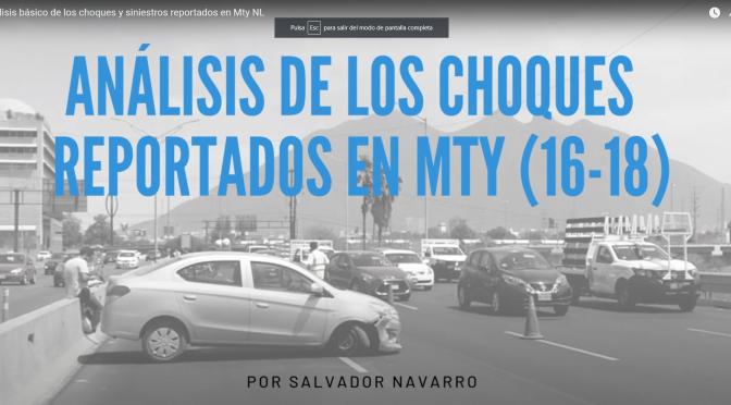 No te sientes al frente si vas en un carro blanco por gonzalitos (Caso de ANÁLISIS DE CHOQUES PARA NUEVO LEÓN, MÉXICO) – DATLAS INVESTIGACIONES